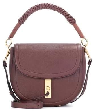 Altuzarra Ghianda Mini leather saddle bag
