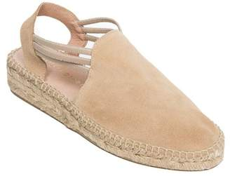 Patricia Green Elba Low Suede Espadrille Wedge