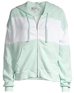 Wildfox Couture Women's Marquis Colorblock Hoodie