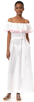 Lisa Marie Fernandez Mira Flounce Dress $830 thestylecure.com
