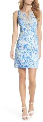 Lilly Pulitzer R) Gabby Sleeveless Sheath Dress
