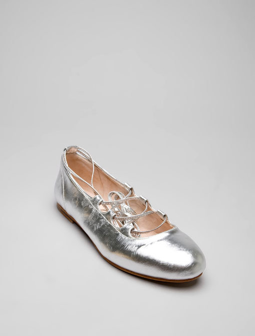 Bloch Laced Graffio Ballet Flat