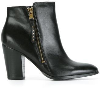 Lauren Ralph Lauren zipped ankle boots $235.67 thestylecure.com