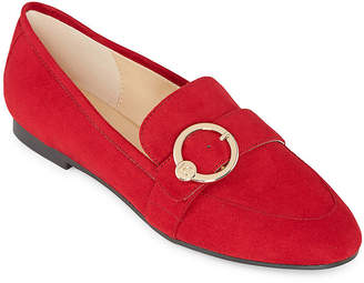 Liz Claiborne Womens Remy Slip-on Closed Toe Loafers