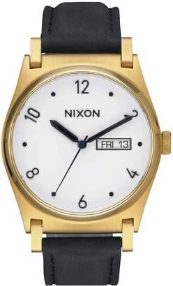 Nixon 'Jane' Leather Strap Watch, 35mm