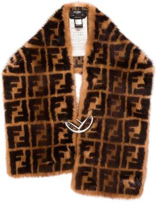Fendi FF Logo Fur Collar