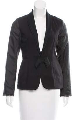 Lanvin Silk Chiffon Jacket