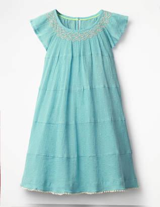 Boden Twirly Smock Dress