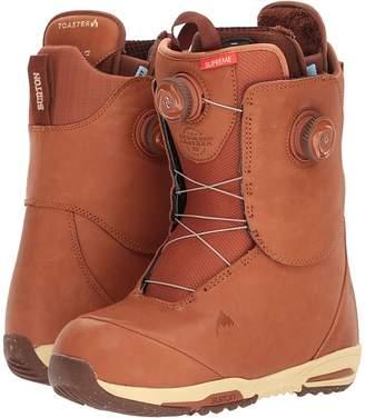 Burton Supreme Leather Heat Boa Women's Cold Weather Boots