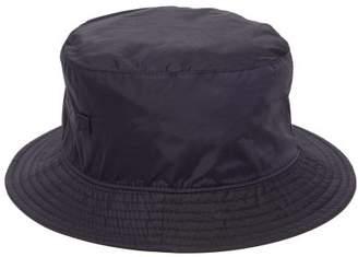 Acne Studios Buk Face Tech Bucket Hat - Mens - Navy