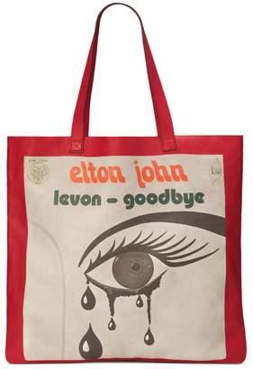 Gucci Elton John maxi tote