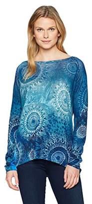Desigual Women's Spicatum Pullover Sweater
