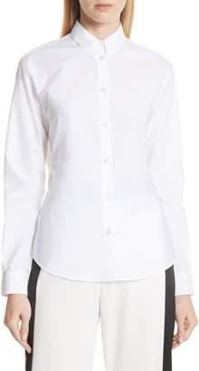 MM6 MAISON MARGIELA Split Back Poplin Shirt