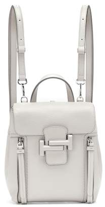 Tod's Double T leather backpack