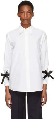 Shushu/Tong White Bow T-Shirt