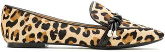 Serpui Marie animal print loafers