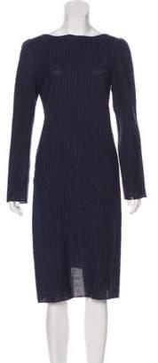Krizia Wool Midi Dress