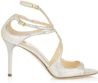 Jimmy Choo Ivette 85 Metallic Sandals