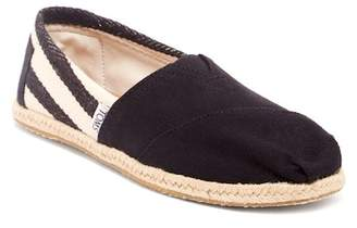 Toms Stripe University Slip-On