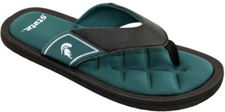 NCAA Arkansas Men's Padded Thong Sandals