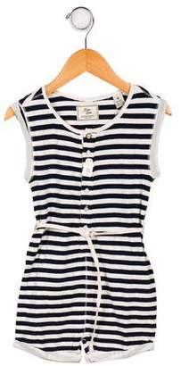 Scotch & Soda Girls' Striped Sleeveless Romper w/ Tags