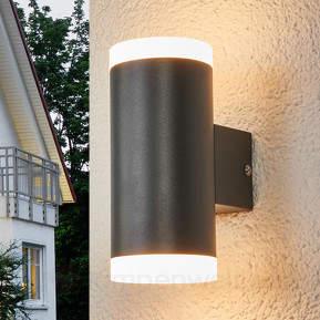 Morena - 2-flammige LED-Wandleuchte für außen