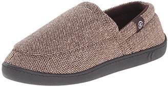 Isotoner Men's Tweed Aline Slip On Thinsulate Flat