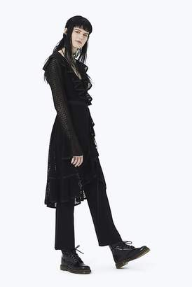 Marc Jacobs Eyelet Ruffle Dress With Jumpsuit