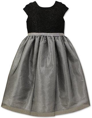 Jayne Copeland Little Girls Scoop Neck Tulle Skirt Dress $74 thestylecure.com