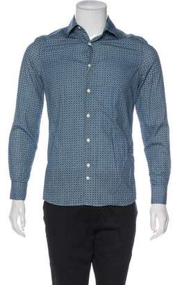 J. Lindeberg Slim Fit Button-Up Shirt