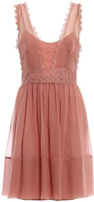 Alberta Ferretti Sleeveless Dress