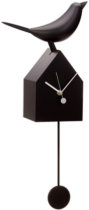 Torre & Tagus Motion Birdhouse Clock With Removable Pendulum
