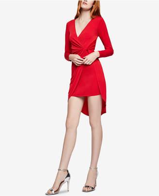 BCBGeneration Asymmetrical Surplice Dress