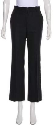 Gucci Mid-Rise Wool Pants
