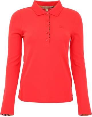 Burberry Long-sleeved Polo Shirt