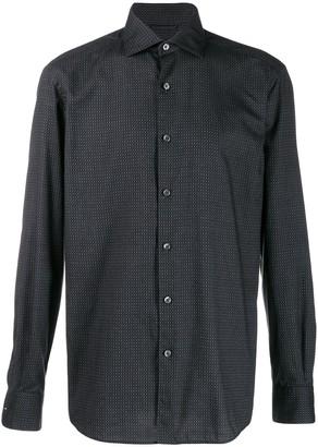 Ermenegildo Zegna micro pattern shirt