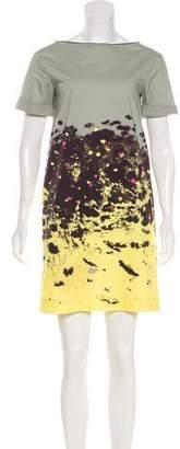 Cacharel Abstract Print Dress