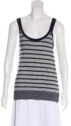Alexander Wang Striped Cashmere Top