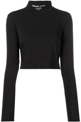 Versace slim-fit cropped top