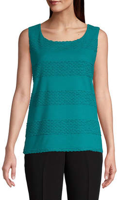 East Fifth east 5th Womens Round Neck Sleeveless Shells