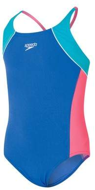 Speedo Girl's Cross Back One Piece
