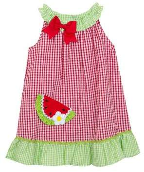 Rare Editions Baby Girl's Two-Piece Gingham Dress and Bloomers Set