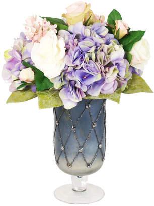 Creative Displays 19In Hydrangea & Rose Vase