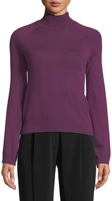 Co Long-Sleeve Turtleneck Cashmere Sweater