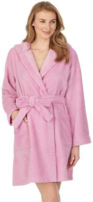 """Stan Herman Women's 36"""" Hoodie Wrap Robe"""
