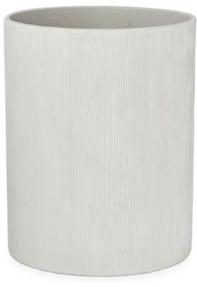 DKNY Fine Lines Ceramic Wastebasket