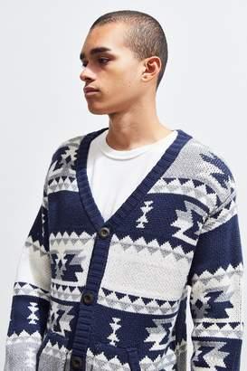 Chums Delta Pattern Knit Cardigan