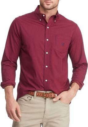 Chaps Big Tall Easy-Care Stretch Button-Down Shirt
