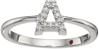 Roberto Coin Tiny Treasure Initial A Love Letter Ring