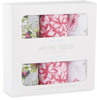 Aden + Anais 3-Pack Classic Swaddling Cloths 6